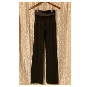 Lululemon Gray & Black Wide Leg Astro Pants